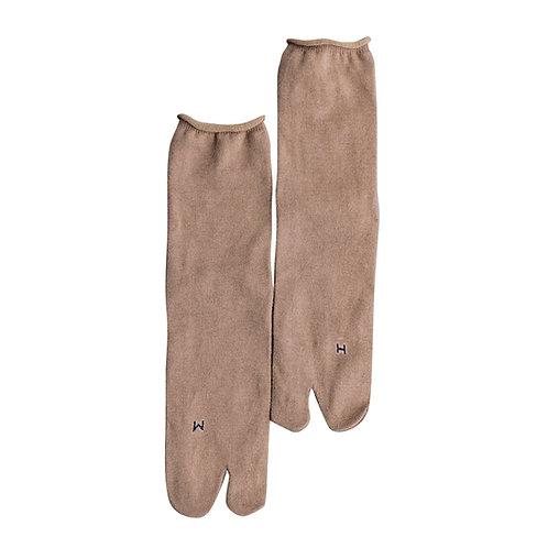 Cotton Cashmere Tabi Socks