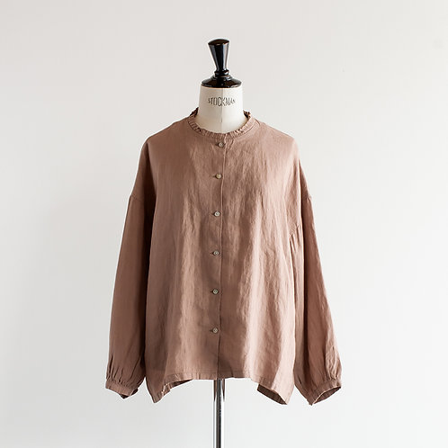 Linen Frill Shirt