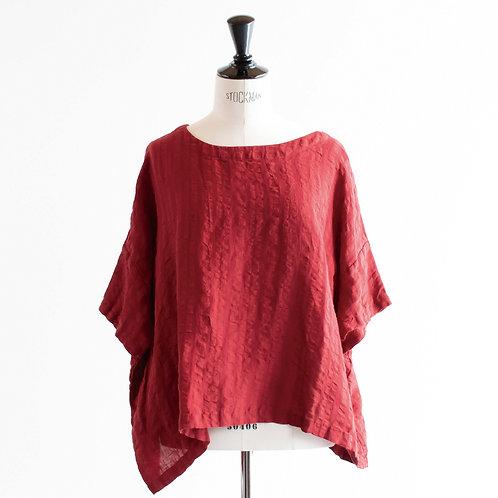 Linen Ripple Pullover
