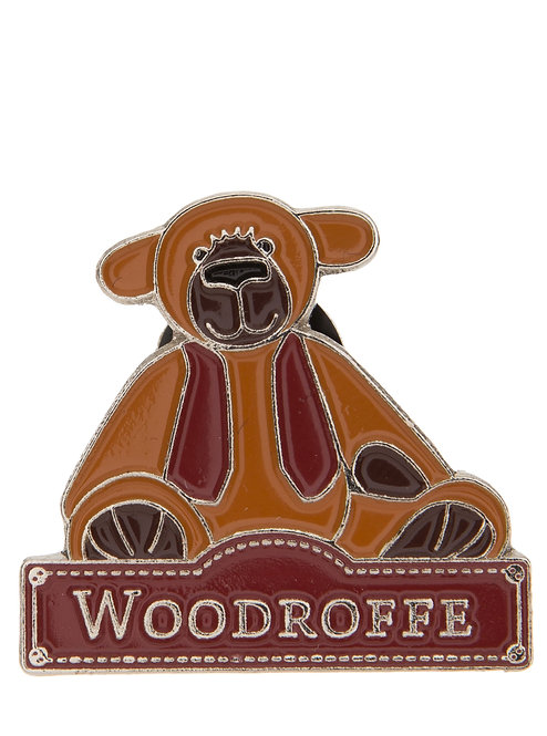 Alice's Bear Shop by Charlie Bears - Pin Badges - Woodroffe