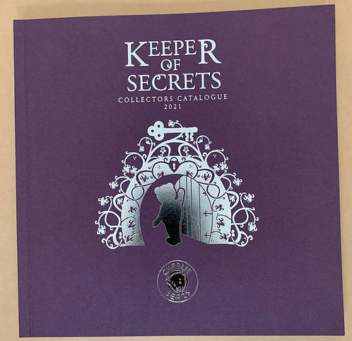 Charlie BearKeeper of Secrets Collectors 2021 Catalogue