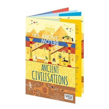 Sassi Junior Pop Up Book - Ancient Civilisations