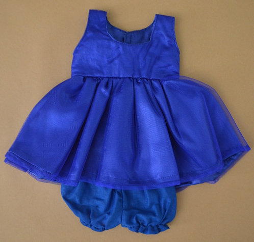 Alice's Bear Shop by Charlie Bears - Clothing - Tilly's Dress Set - Blue