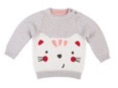 Gingerlilly Baby Cotton Jumper- Jill- Size 12-18m
