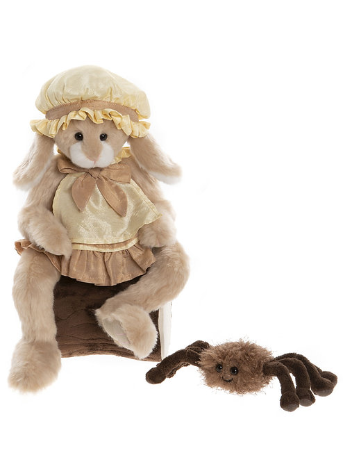 Charlie Bear 2020 Plush Collection - Little Miss Muffet & Incy Wincy