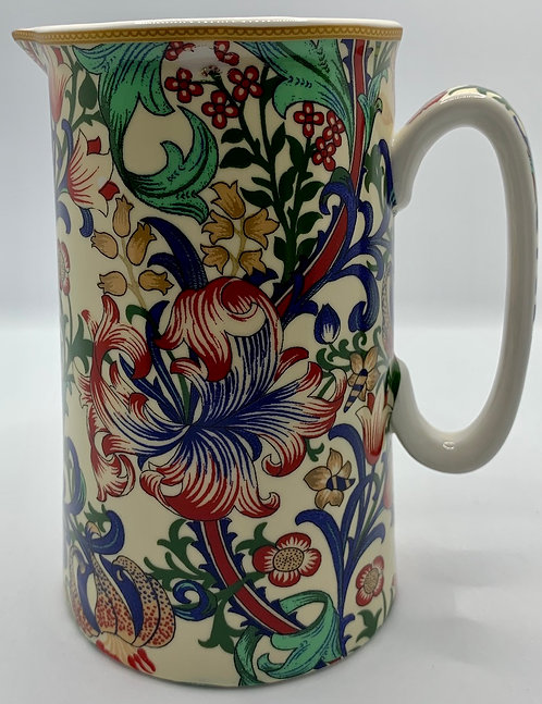 Nostalgic Fine  China Milk Jug - Morris Lily