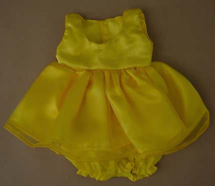 Alice's Bear Shop by Charlie Bears - Clothing - Tilly's Dress Set - Yellow