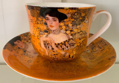 Heritage Bone China B'fast Cup/Saucer- Portrait of Adele