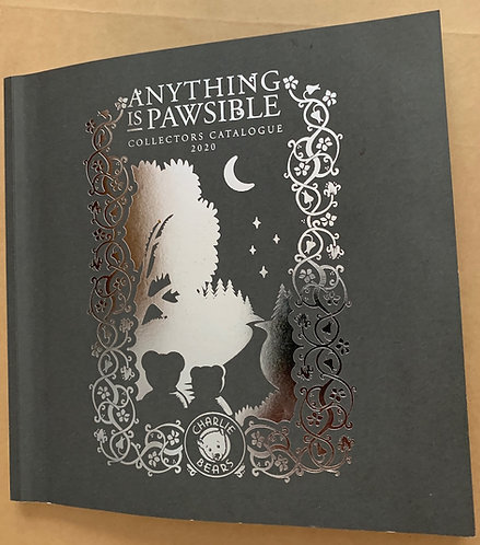 Charlie Bear Anything is Pawsible Collectors 2020 Catalogue