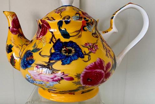 Heritage Stoke on Trent Fine Bone Teapot - Anthina Honey