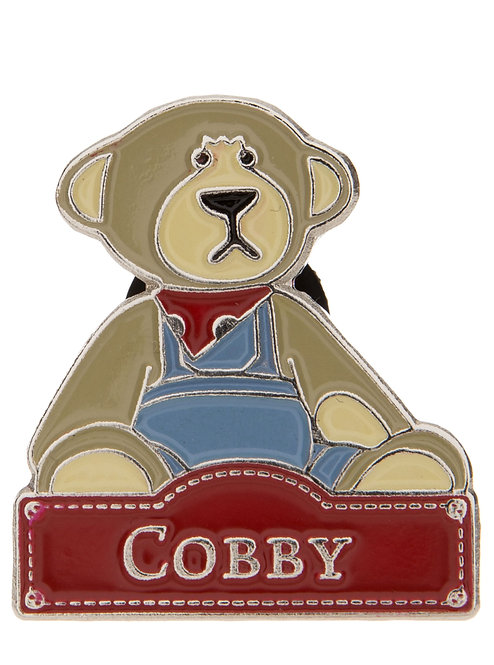Alice's Bear Shop by Charlie Bears - Pin Badges - Cobby