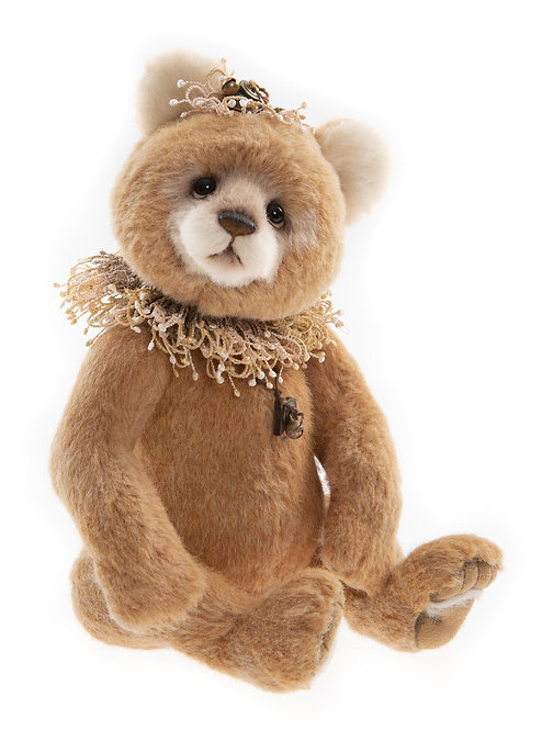 Charlie Bear 2021 Isabelle Collection - Granola