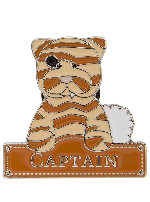 Alice's Bear Shop by Charlie Bears - Pin Badges - Captain