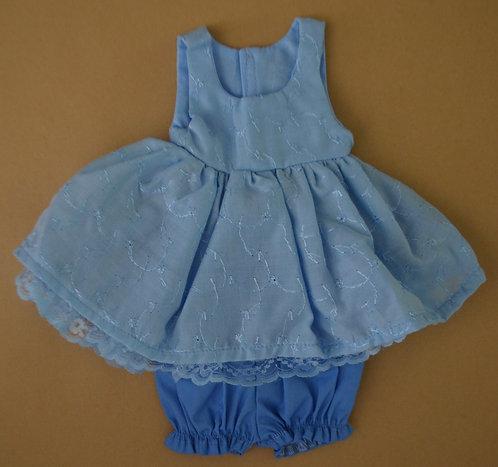 Alice's Bear Shop by Charlie Bears - Clothing - Sandy's Dress Set - Blue