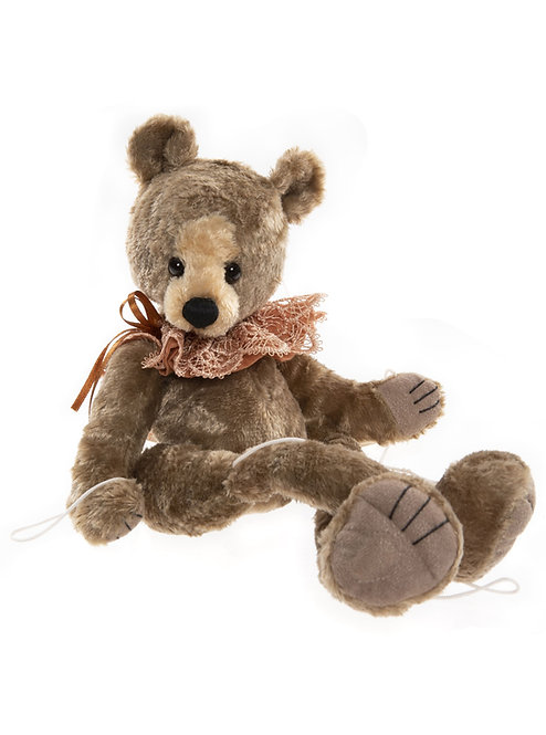 Charlie Bear 2021 Plush Collection - Palladium