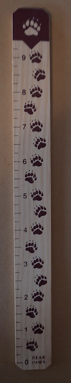 Charlie Bear Bear Paw Ruler