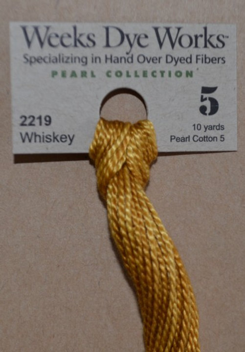 Weeks Dye Works Needlework Threads P5 - Whiskey