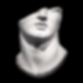 Escultura de cara