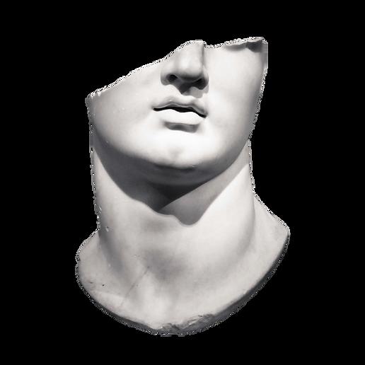 Gesicht Scuplture