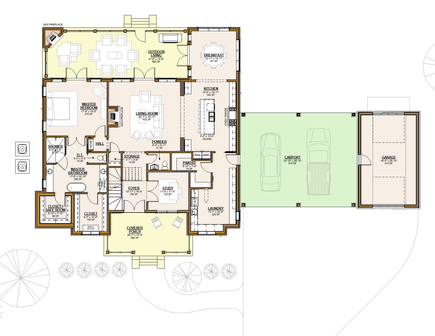 2015 - Floor Plan - Level 1 - Pres