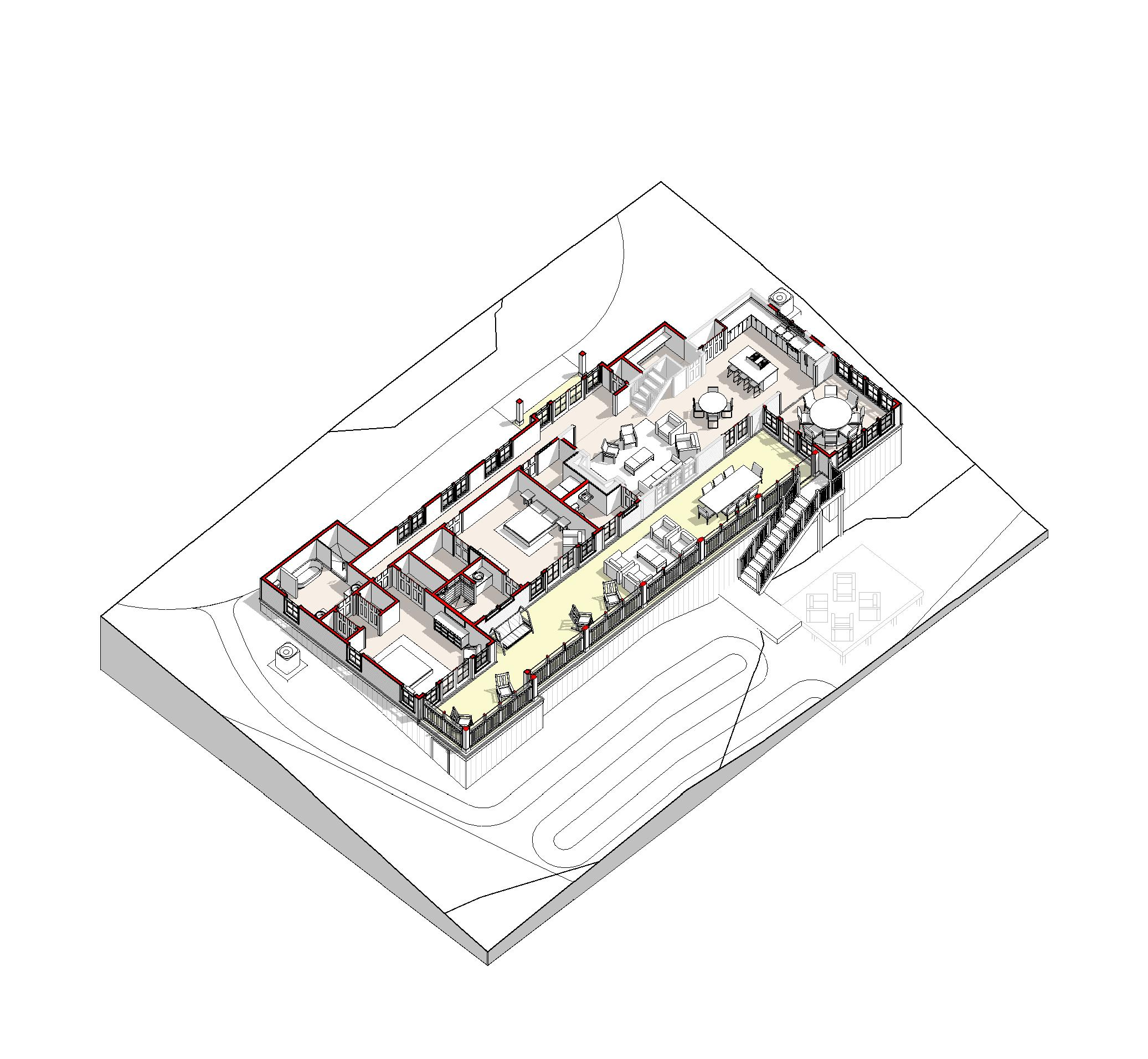 2031_ - 3D View - 3D Axon - NW