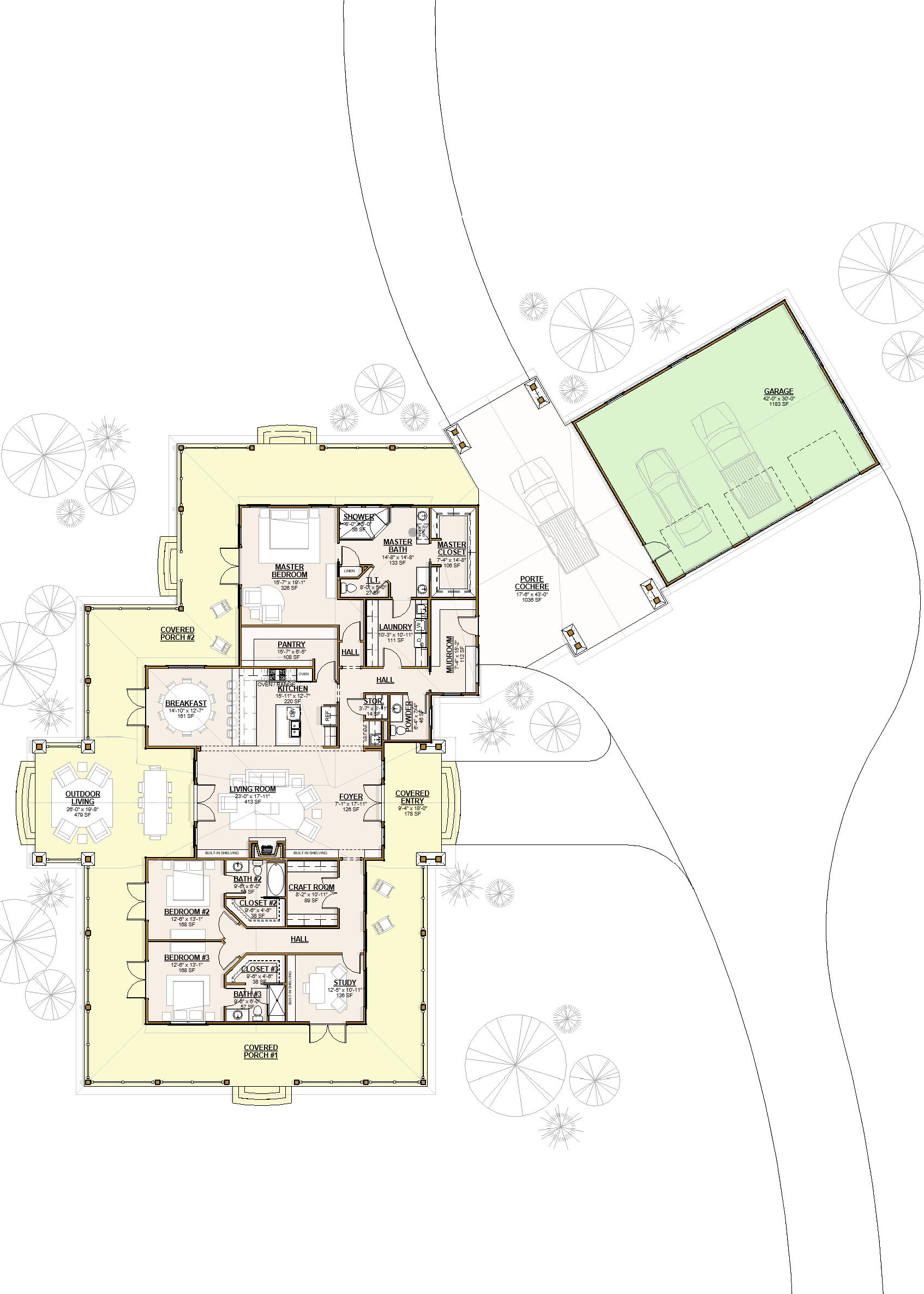 2001 - Floor Plan - Level 1 - Pres