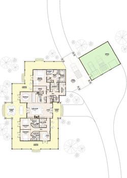 2001 - Floor Plan - Level 1 - Pres