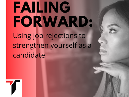 Use Job Rejections to Strengthen Yourself as a Candidate