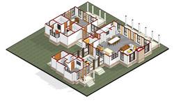 1817_ - 3D View - First Floor 3D plan c.