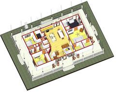1903_ - 3D View - First Floor 3D plan b.