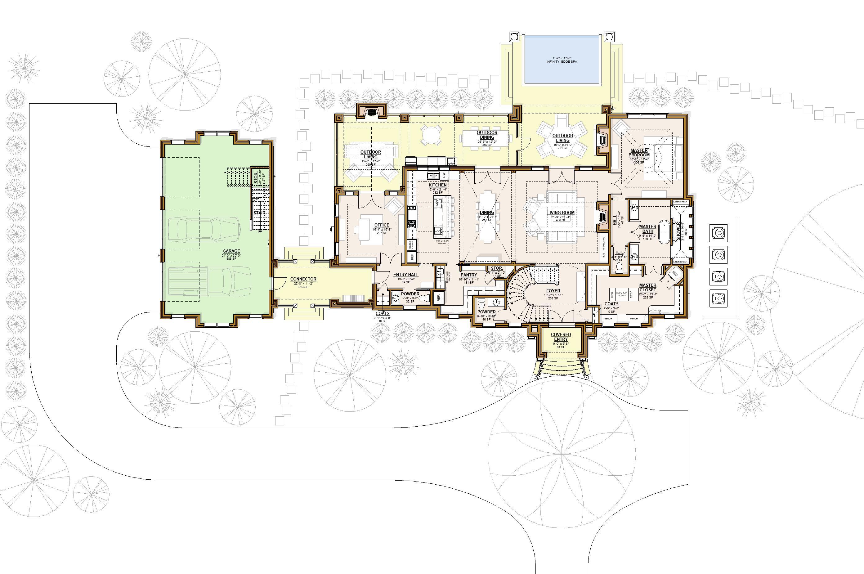 2027_Floor Plan - Level 1 - Pres