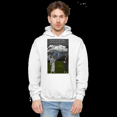 Edo Maeda-Unisex fleece hoodie