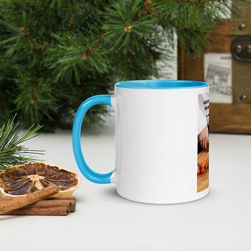 Fannie Briley - Coffee Mug Blue inside
