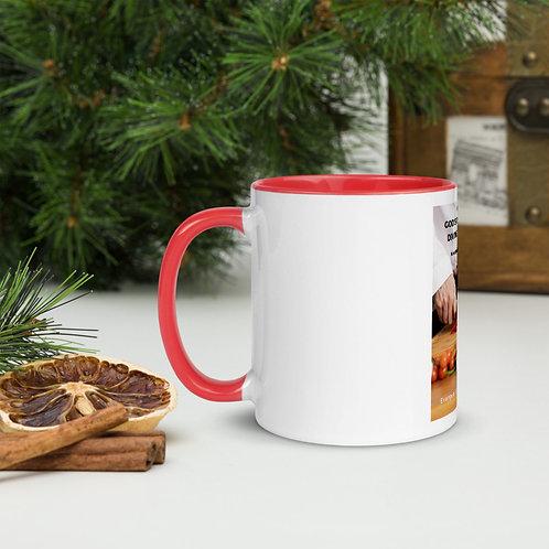 Fannie Briley - Coffee Mug Red inside