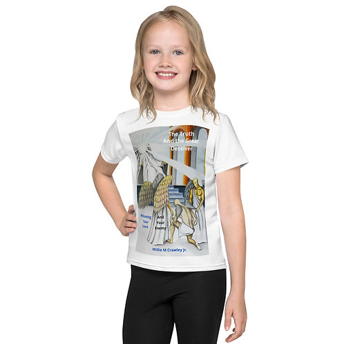 Willie Crawley Jr: All-over-print kids t-shirt