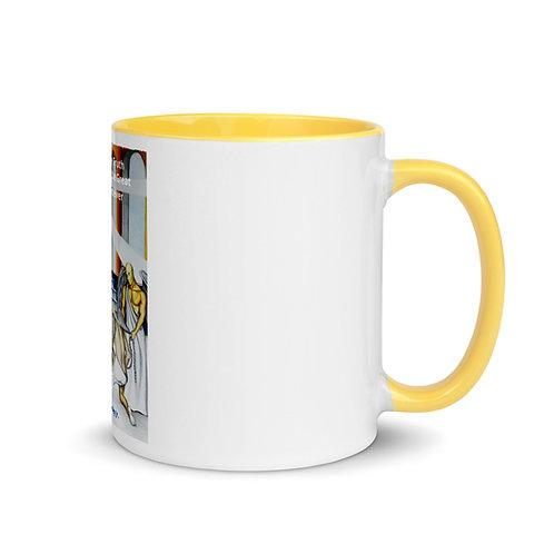 Willie Crawley Jr: Coffee Mug with Color Inside