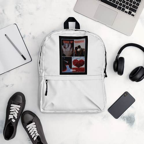 Jamal Byes: All-over-Print Backpack