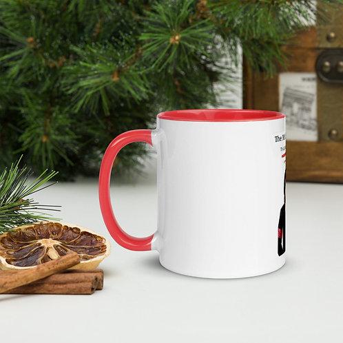 Vincent F. Amen Coffee Mug Red Color