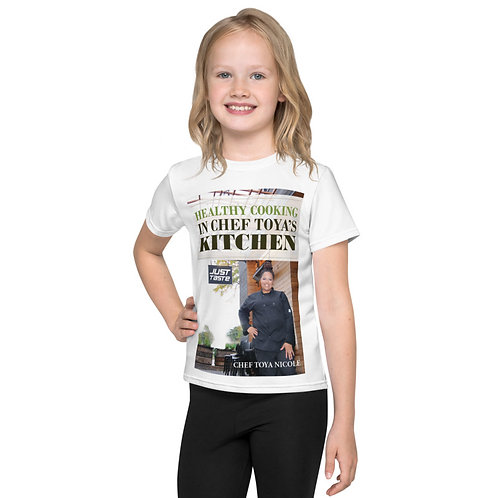 Chef Toya Nicole-Kids Tshirt