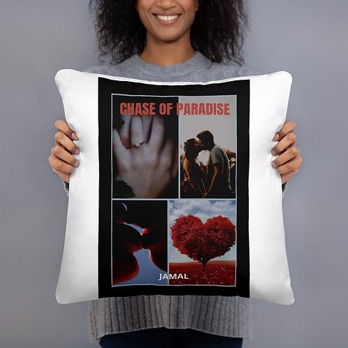 Jamal Byes: All-Over Print Basic Pillow