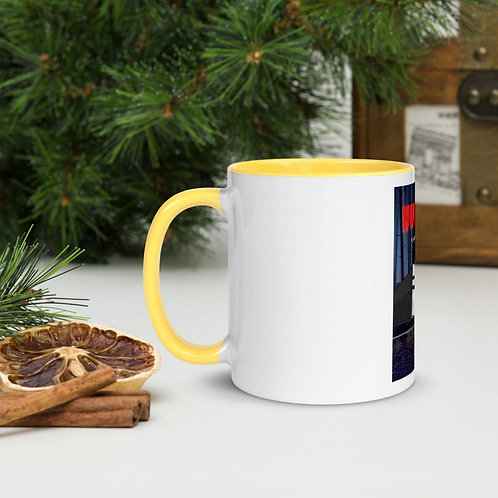Madeline Monzel - Coffee Mug Yellow Inside