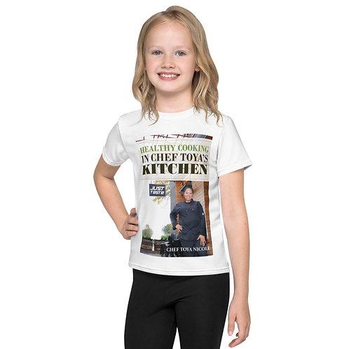 Chef Toya Nicole-Kids crew neck t-shirt