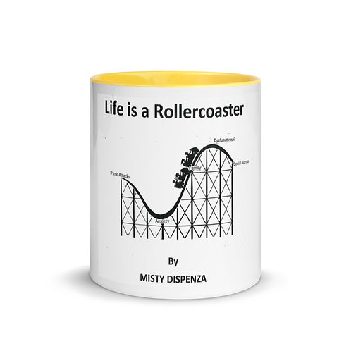 Misty Dispenza Mug Yellow