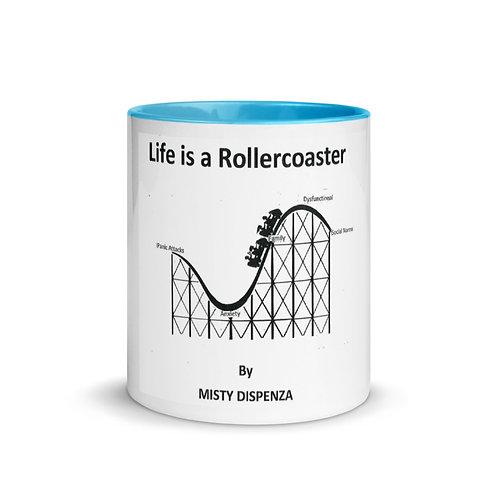 Misty Dispenza Mug Blue