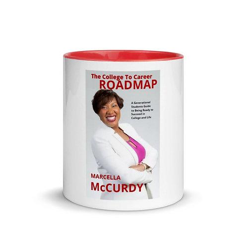 Dr. Marcella-Red Mug with Color Inside