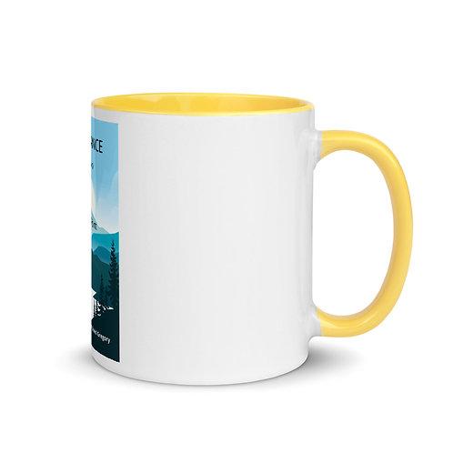 David Gregory Turning Point - Coffee Mug Yellow