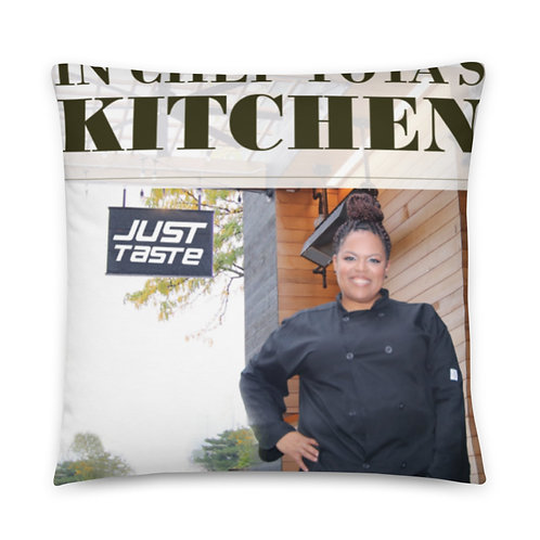 Chef Toya Nicole-Basic Pillow