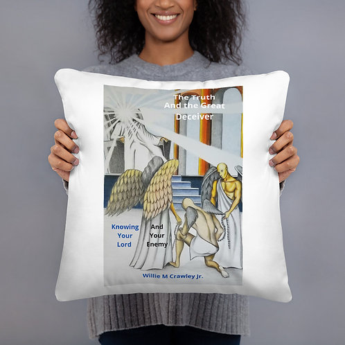 Willie Crawley Jr: All-Over Print Basic Pillow