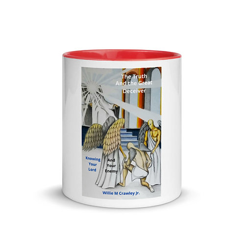 Willie Crawley Jr: Coffee Mugs with Color Inside Red
