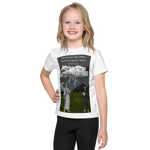 Edo Maeda-All over print kids t-shirt